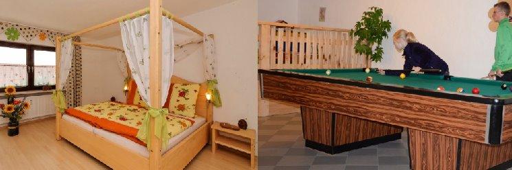 Bayerischer Wald Ferienhaus für 7 bis p Personen Gruppenhaus in Bayern