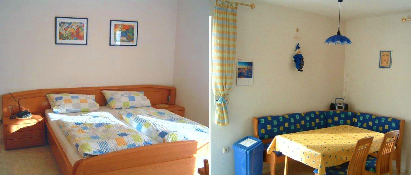 Ferienwohnung und Zimmer mit Frühstück in Tirschenreuth