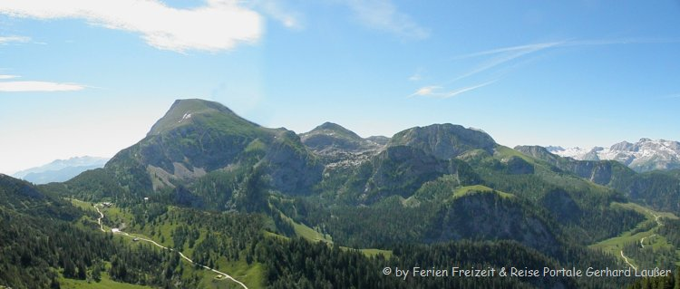 Berghütten mieten in Berchtesgaden Jenner Wanderung Alpenpanorama