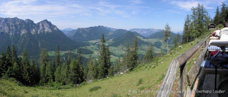 Hüttenurlaub Bad Reichenhall Berghütten Wanderung Aussicht