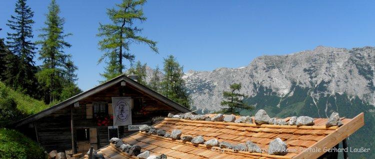 Einsame Berghütten im Allgäu mieten Übernachtung Almhütte Aussicht