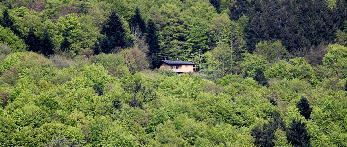 einsame Berghütte mieten für 2 Personen in Bayern