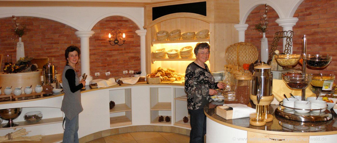 bayerischer-wald-kleine-hotels-bayern-frühstücksbuffet