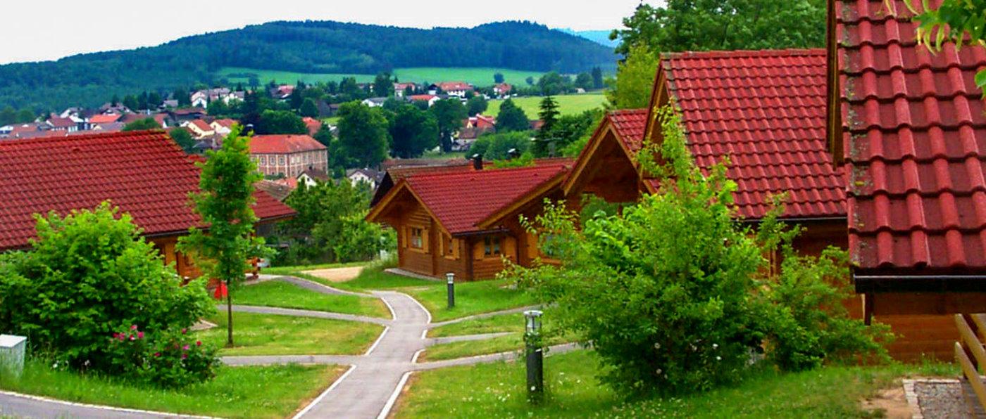 Ferienpark in Bayern mit Hund - Bayerischer Wald Feriendorf in Stamsried