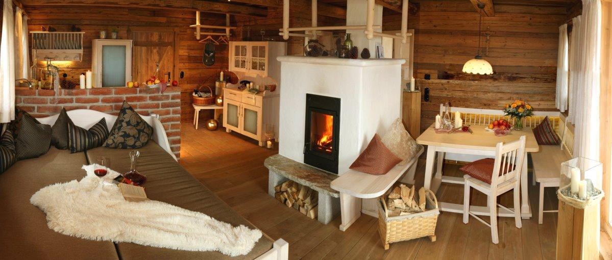 Luxus Berghütten Bayerischer Wald Chalets mit Kamin,Pool & Sauna
