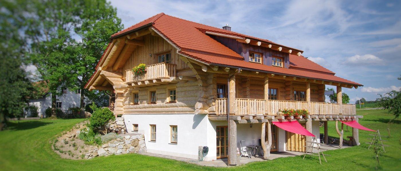 ferienwohnung im blockhaus bayerischer wald luxus urlaub in bayern. Black Bedroom Furniture Sets. Home Design Ideas