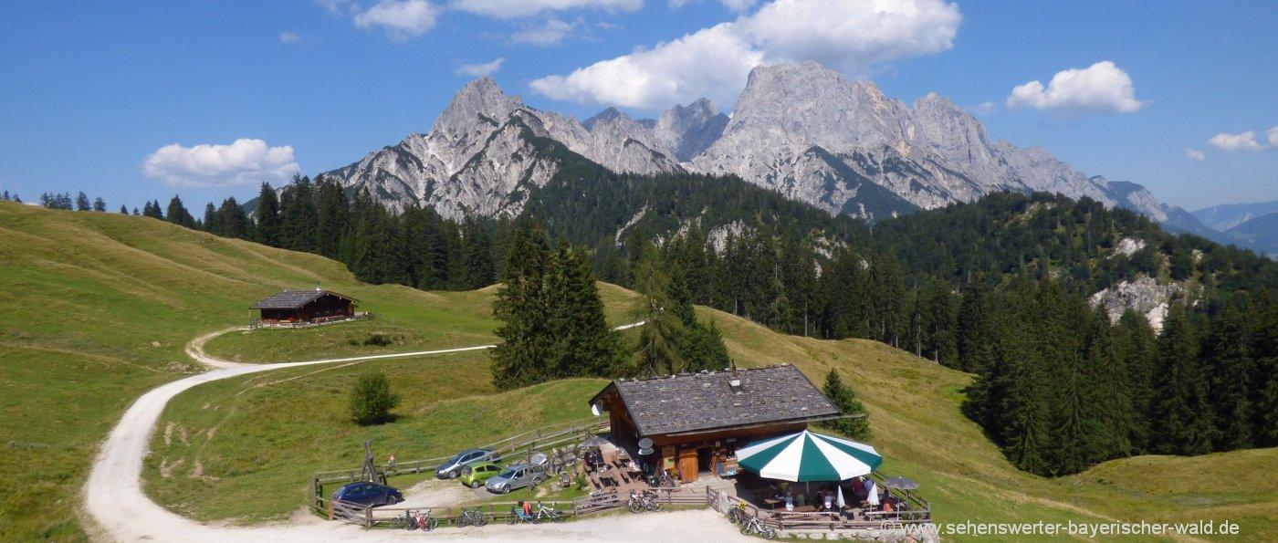 sehenswürdigkeiten-österreich-ausflugsziele-highlights-berge
