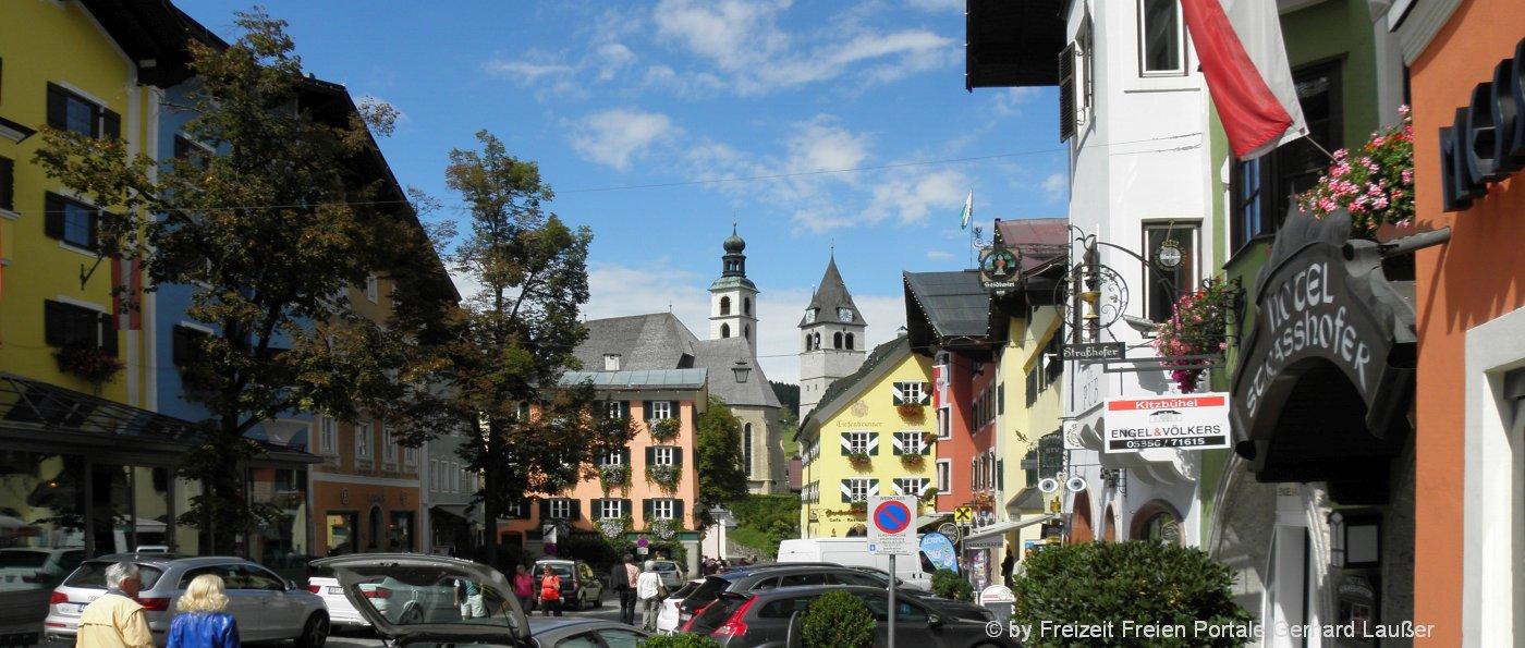 Top Sehenswürdigkeiten und Ausflugsziele in Österreich - Kitzbühel