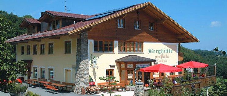 Bewirtschaftete Pröller Berghütte in Bayern Hausansicht