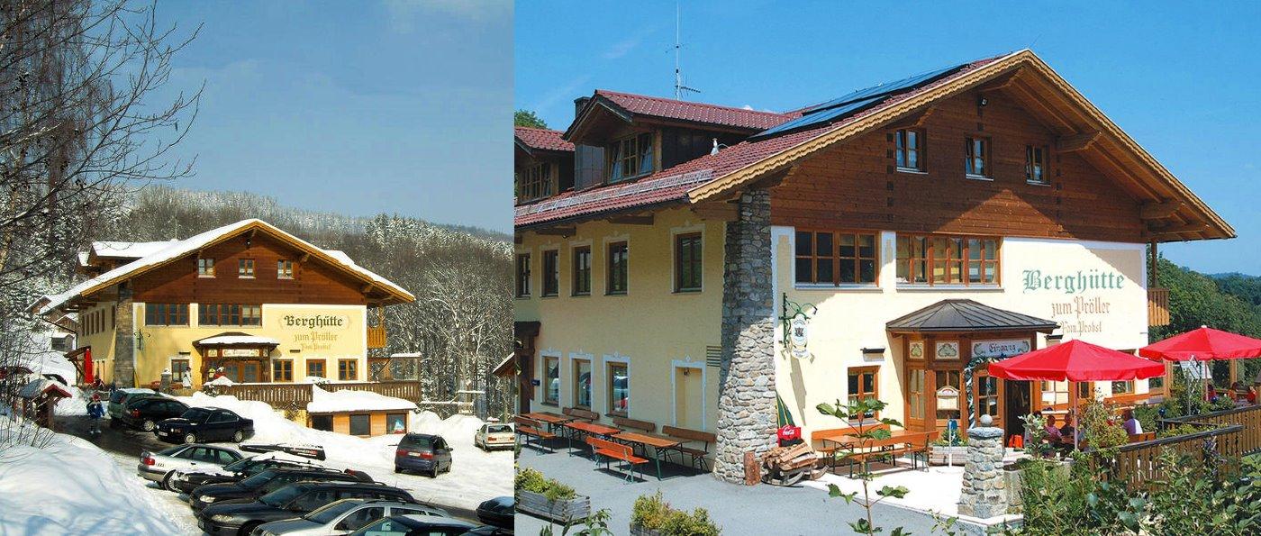pröller-bewirtschaftete-berghütten-bayerischer-wald-übernachtung