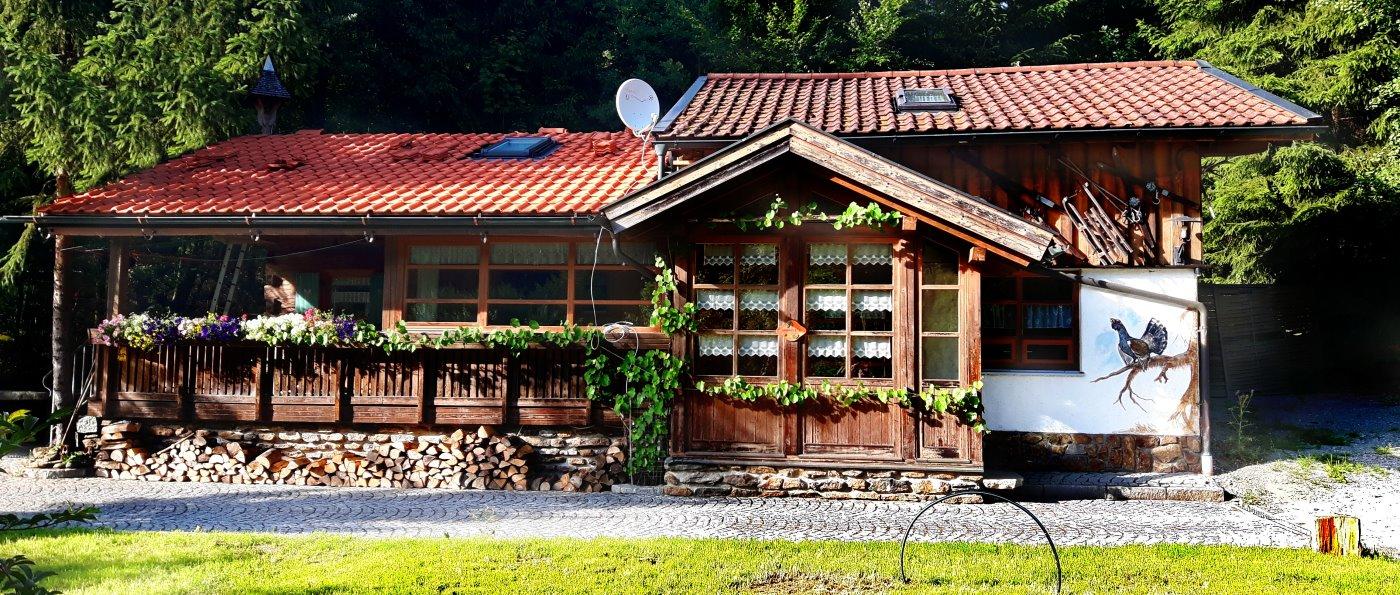 Jagdhütte mieten Hütten Urlaub in der Jägerhütte im Bayerischen Wald