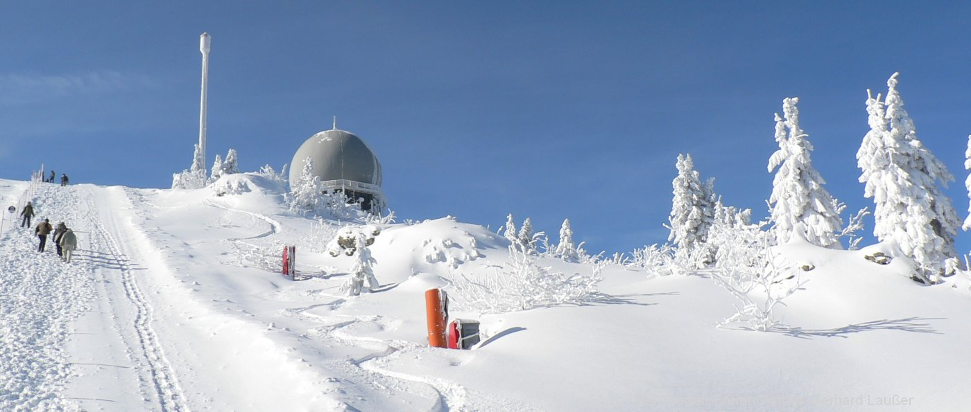 Winterurlaub und Skiurlaub Bayerischer Wald Skihütten und Berghütten