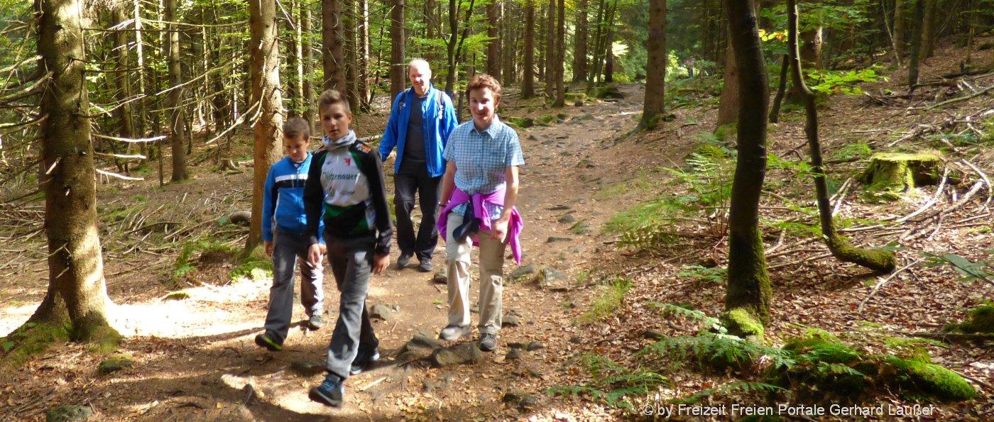 Wanderhütten Bayerischer Wald Wandertouren in Bayern