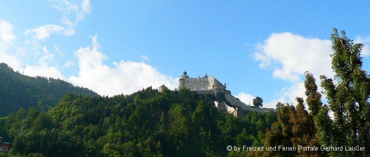 Sehenswürdigkeiten in Werfen Ausflugsziele Burg Hohenwerfen