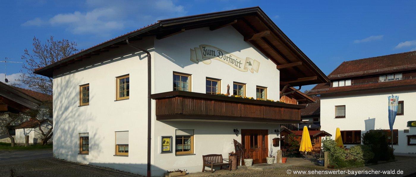 wieser-bayerischer-wald-gasthof-hundefreundlich-ferienhaus-aussenansicht